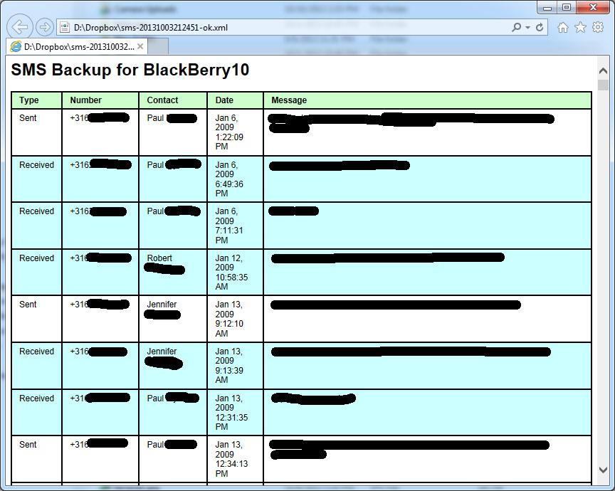 SMS Backup | Epic Windmill